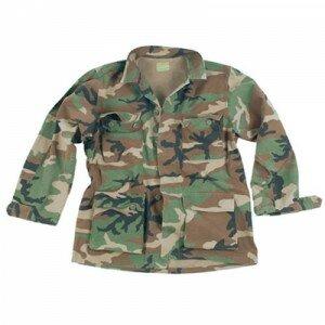 Куртка Mil-Tec WOODLAND