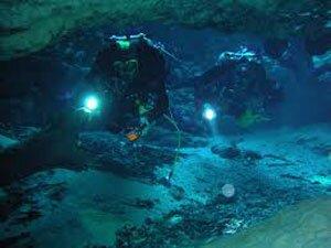 Фонарь подводный